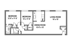 Columbia Park 2bed