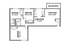 Columbia Park 3bed